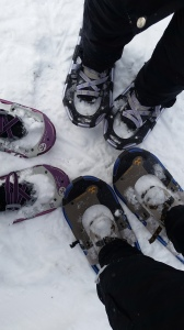 Check out our legitimate snowshoeing gear #commit