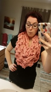 It's kind of a giant scarf.
